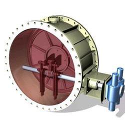 阀体部件由阀体,夹套,阀板,轴,四连杆机构,填料函等零件组成.图片